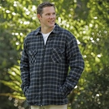 Padded Fleece Lined Shirt