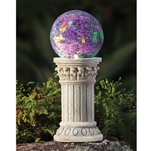 Pillar Mosaic Solar Ball