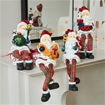 Perching Santa Set