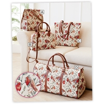 Tapestry Robin Bags