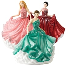 Royal Doulton Crystal Ball Figurines