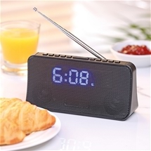 Easy-To-Read Alarm Clock Radio