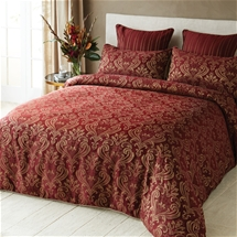 Ruby Jacquard Bedding