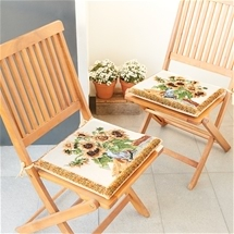 Sunflower Dining Chair Cushions