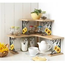 Sunflower Kitchen Shelving