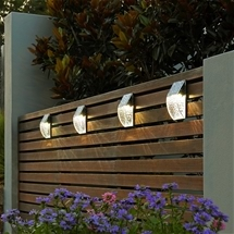 Solar Fence Lamps