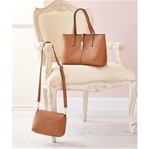 Stylish Handbag Twin Set