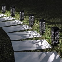 Decorative Effect Solar Lanterns