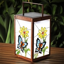 Solar Butterfly Bloom Lantern