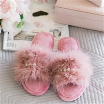 Glam and Sparkly Slippers