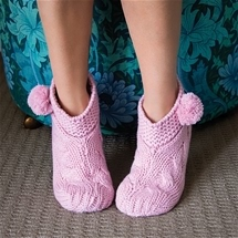 Slouchy Ankle Slippers