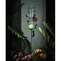 Solar Light Rain Gauge