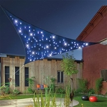 Solar LED Shade Cloth