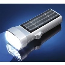 Handy Solar Powered Torch - 6 LEDs