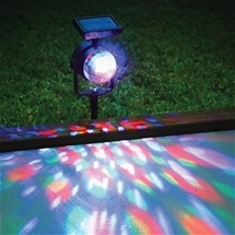Solar Revolving Light