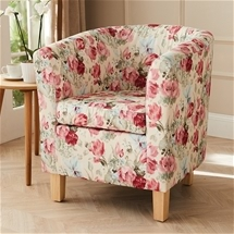 Floral Tub Chair