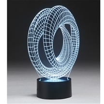 3D Illusion USB Light Sculpture