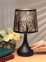 Tree Design Touch Lamp