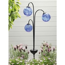 Trio Solar Globe Light