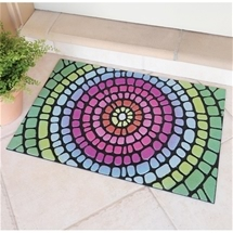 Tough Rainbow Doormat