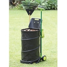 Folding Garden Trolley Bin