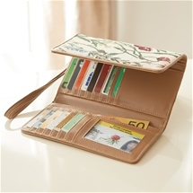 Protective RFID Tapestry Wallet