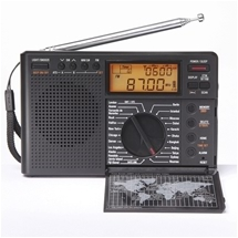 World Band Radio & Clock