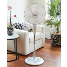 Multifunction 5 Blade Pedestal Fan