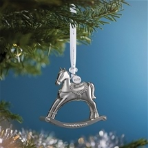 Waterford Silver-Plated Ornaments