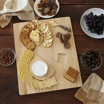 Cheese & Cracker Serving Board
