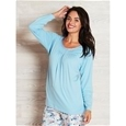 Long Sleeve Cotton PJ Top_16W08_0
