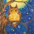 Midnight Owl Bead Embroidery_46062_0