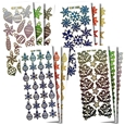 Christmas Pattern Stickers_47165_0