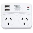 Double Adaptor/USB Ports_DADPT_2