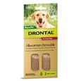 Drontal Dog Chewable Allwormer 2 Pack_DHD0100_1