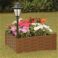 Garden Panel Bed with Solar Light_GPBSL_0