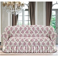 Italian Rouched Flower Sofa Covers_IRFCF_0