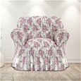 Italian Rouched Flower Sofa Covers_IRFCF_1