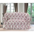 Italian Rouched Flower Sofa Covers_IRFCF_2