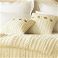 Cable Knitted Throws and Cushion_KNTH-_1