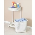 Laundry Basket with Tray_LNDBT_1