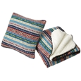 Norwegian Style Throw and Cushion_NWBKC_1