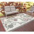 Floral Outdoor Patio Mat_PTMR_0