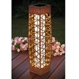 Rattan Pillar Solar Light_RNLT_0