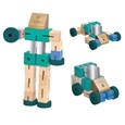 Wooden Robot Transformer_TRAFR_0
