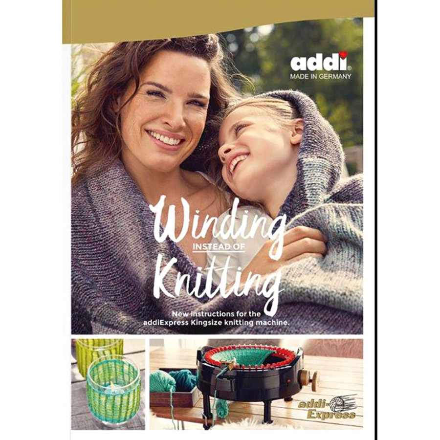 Winding Instead of Knitting