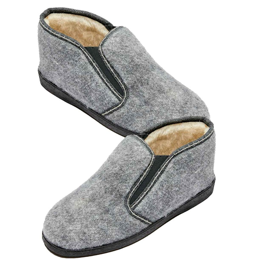 Mens Thermal Slipper Chocolate/brown Check 06