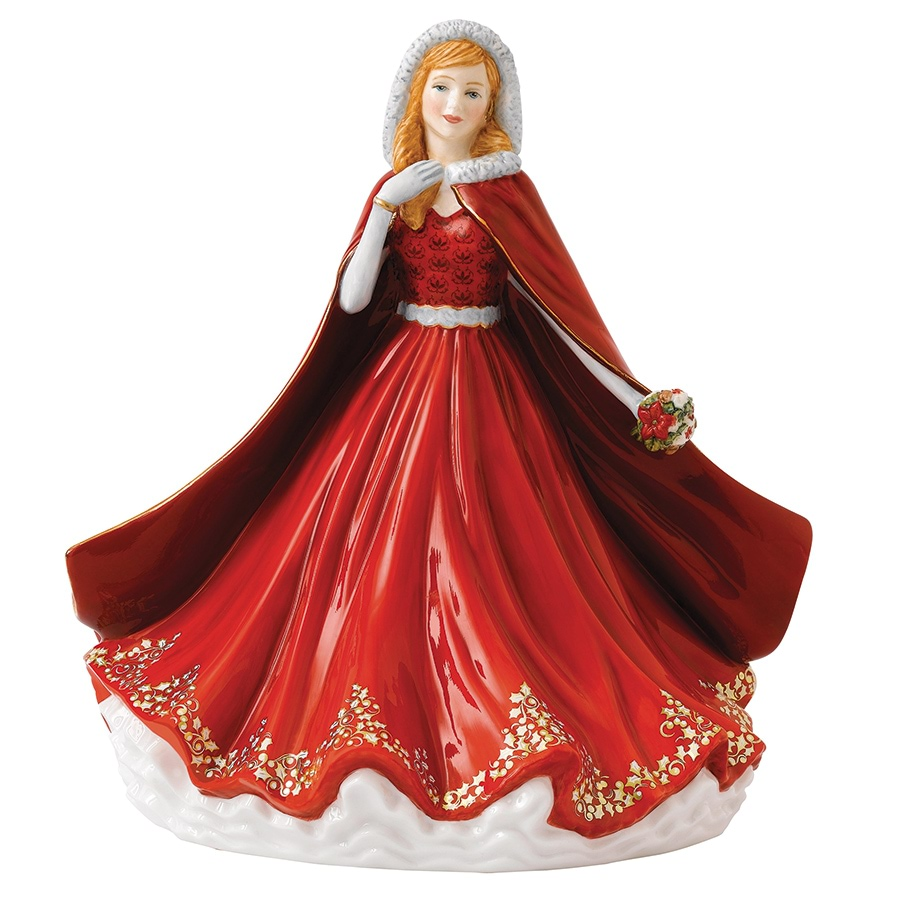 Royal Doulton Christmas Figure of the Year 2016 w. GWP