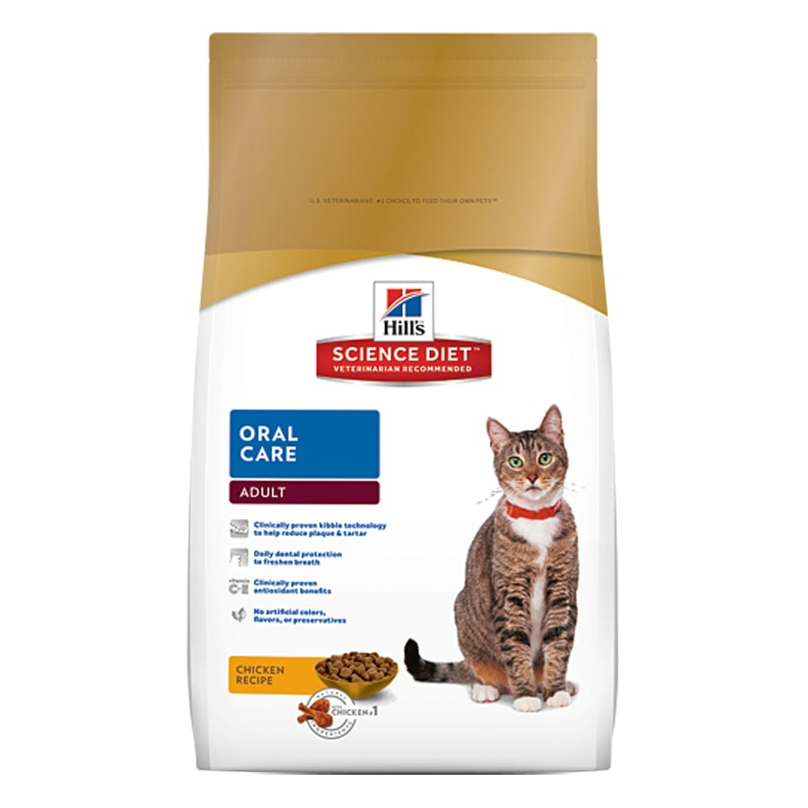 Hills Science Diet Feline Adult Oral Care 4Kg