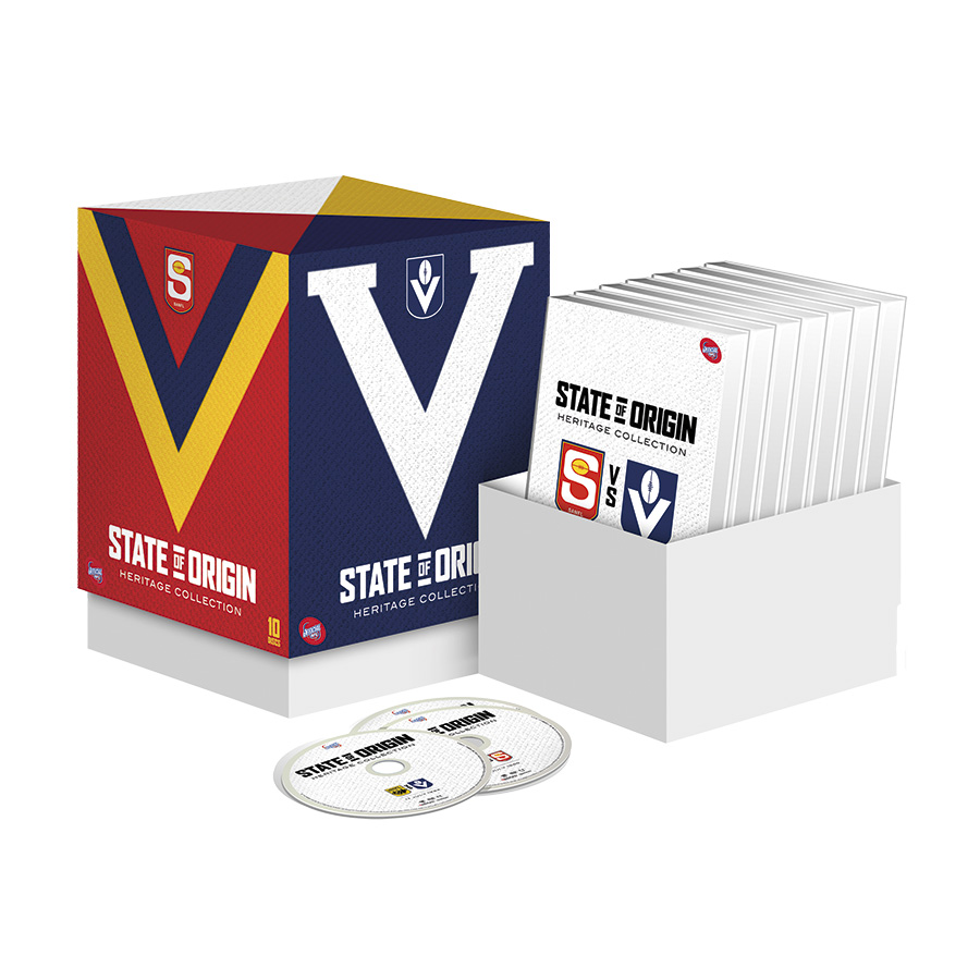 AFL State of Origin Heritage DVD Collection